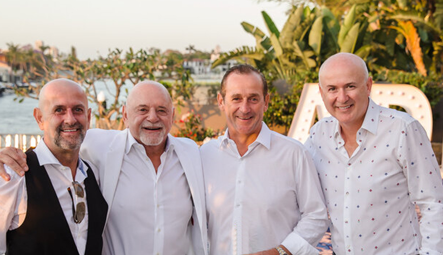 The Picone Family: (left to right) Craig, Frank, Jason and Paul Picone